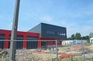 Bureaux, entrepôt et zone d'entretien ANTIAK à Montignies-sur-Sambre.