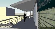 Supermarché Reyhan : Restaurant, bureaux et boucherie à Marchienne-au-pont.