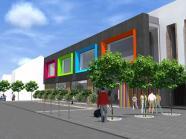 Construction d'une nouvelle école communale à Beuzet