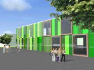 Construction d'un bâtiment scolaire secondaire à Hannut