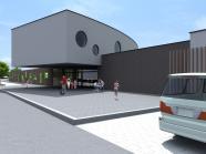 Construction d'une nouvelle école communale et d'une crèche à Ronquières