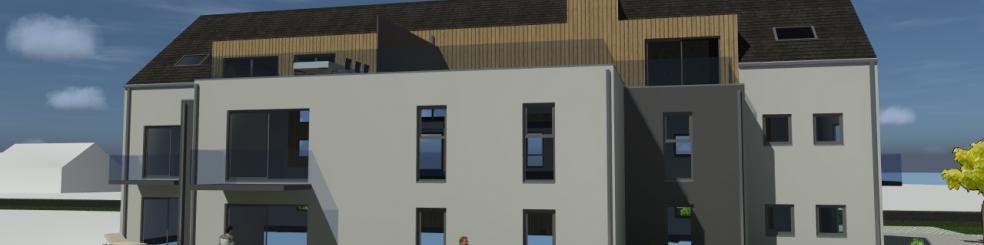 Immeuble de 10 appartements à Spiennes